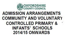 School Admissions numbers and rules