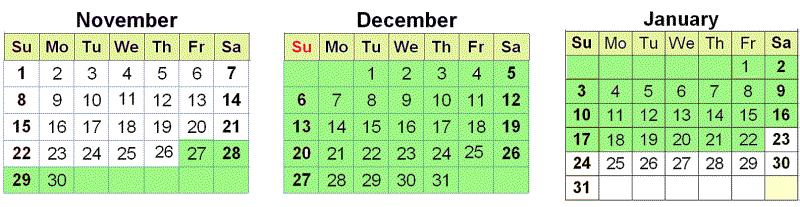 Consult Dates