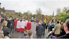 Remembrance Day shows village cohesion